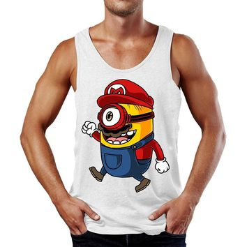 Super Mario Minion Tank Top