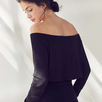 Out From Under Chill Out Off-The-Shoulder Cropped Top | Urban Outfitters