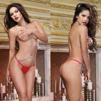 Hot Deal Cute On Sale Sexy Sleepwear See Through Exotic Lingerie [6594737411]
