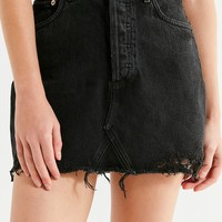 AGOLDE Quinn Denim Mini Skirt – Black | Urban Outfitters
