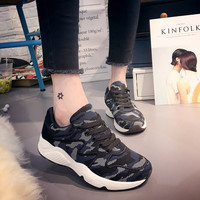 Comfort Hot Deal Stylish Hot Sale On Sale Casual Thick Crust Patchwork Shoes Korean Round-toe Permeable Sneakers [9448884935]