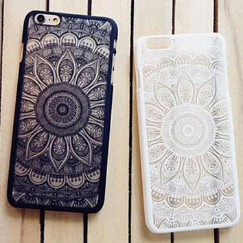 Retro Lace Floral Printed Case for iPhone 7 7 Plus & iPhone se 5s 6 6s Plus  Great Gifts