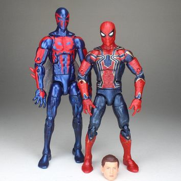 Marvel Legends Avengers Infinity War 2099 Spiderman Iron Spider Tom Holland Fig