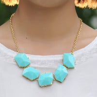 NEW  Bubble Necklace,Handmade Bib Necklace,Statement Neckalce-B059