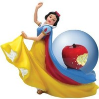 Westland Giftware Snow White's Apple Water Globe, 45mm