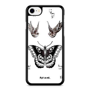 Tattoo Harry Style One Direction iPhone 8 Case