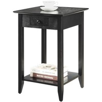 Convenience Concepts American Heritage End Table, Multiple Finishes - Walmart.com