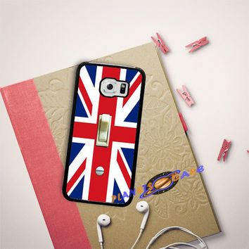 British Flag switch plate Samsung Galaxy S6 Edge Case Planetscase.com
