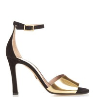 Ankle-strap suede sandals | Chloé | MATCHESFASHION.COM US