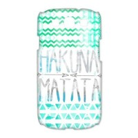 Treasure Design Funny Hakuna Matata Samsung Galaxy S3 9300 3d Best Durable Case