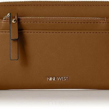Nine West Table Treasures Zip Around With Pouch Wallet