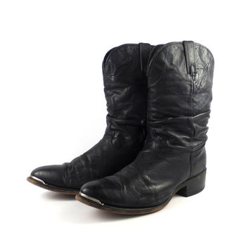 Mens Slouch Boots Cr Boot