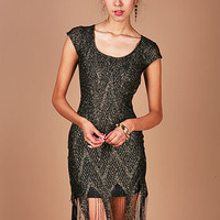 Flapper Fringe Dress | Trendy Clothes at Pink Ice