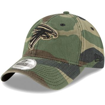 Men's New Era Woodland Camo Atlanta Falcons Core Classic 9TWENTY Adjustable Hat