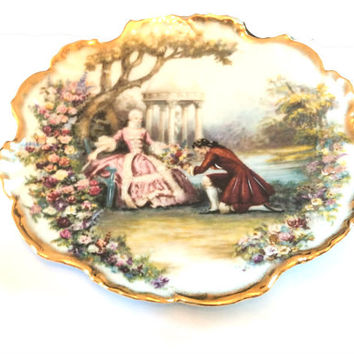 Limoges Plate French Porcelain