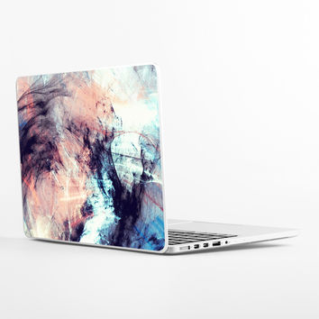 Marbled Glow Laptop Skin