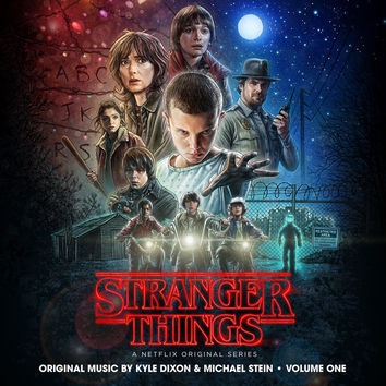 Kyle Dixon & Michael Stein ‎– Stranger Things, Vol. 1 (A Netflix Original Series Soundtrack) ‎LP