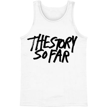 Story So Far Men's  New Logo Mens Tank White Rockabilia