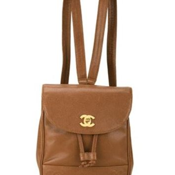 Chanel Vintage Classic Backpack - Farfetch