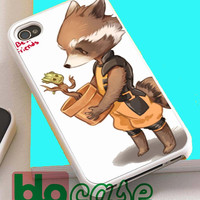 Groot and Rocket Racoon For Iphone 4/4s, iPhone 5/5s, iPhone 5C, iphone 6, and iPhone 6 Plus Case