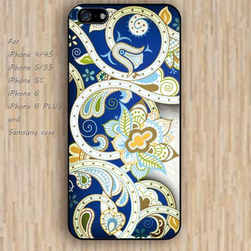 iPhone 5s 6 case Floral Frame Dream catcher colorful phone phone case iphone case,ipod case,samsung galaxy case available plastic rubber case waterproof B418