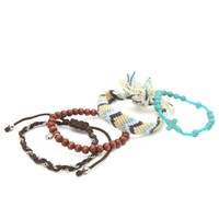 With Love From CA Friendship Turquoise Bracelet Set - Womens Jewelry - Multi - One