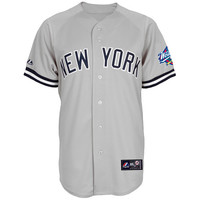 New York Yankees Replica Derek Jeter Road Jersey w/1998 World Series Patch - MLB.com Shop