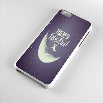 Peter Pan Take Me To Neverland Purple iPhone 5c Case
