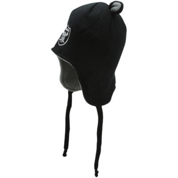 47 Brand Oakland Raiders Infant Little Monster Knit Hat - Black - http://www.shareasale.com/m-pr.cfm?merchantID=7124&userID=1042934&productID=544535199 / Oakland Raiders