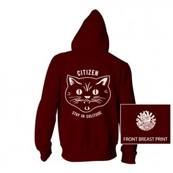 Citizen - Stay In Solitude pullover hoodie - Citizen - Artists