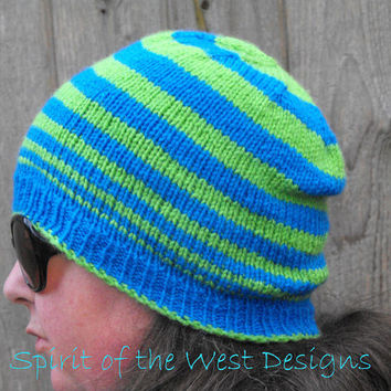 A Beanie for the Bunch - Knitting Pattern - Newborn to Adult sizes, winter hat, toque, teens, unisex, basic knit hat, many sizes easy quick