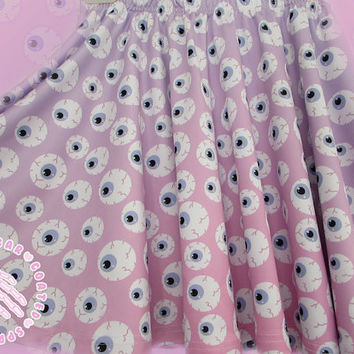 PRE-ORDER All Over Eyeball Skirt