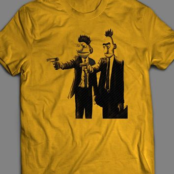 BERT AND ERNIE PULP FICTION PARODY T-SHIRT