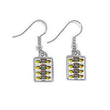 Friends TV Show Central Perk Earrings pierced ear ring set