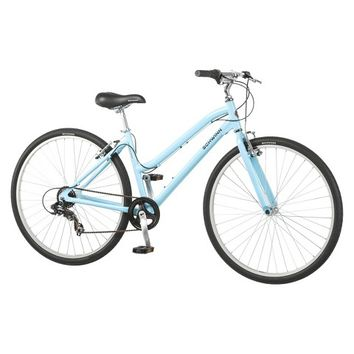 "Schwinn Womens Median 28""/ 700c Hybrid Bike - Powder Blue"