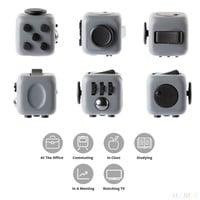 1pcs Stress Relief Fidget Cube Reduce Pressure Dice Gift For Adults Kids