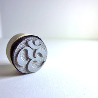 Om Small Rubber Stamp