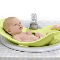 Puj Tub - The Soft Foldable Baby Bath Tub - Kiwi Green