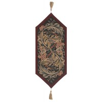 William Morris Red Small French Table Runner