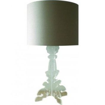 Louis Acrylic Table Lamp Clear