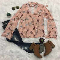 A Day with the Girls Floral Top