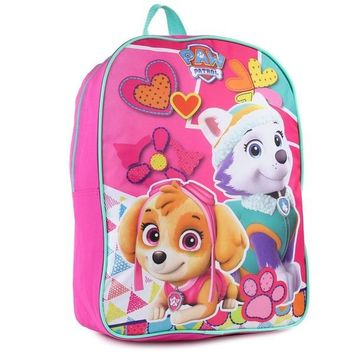 Paw Patrol Pink Girls Backpack