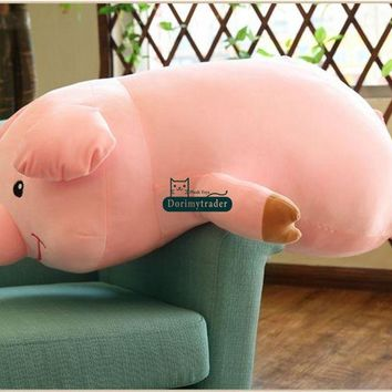 Pig Giant Stuffed Animal Plush Toy 35""