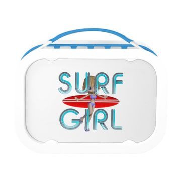 TOP Surf Girl Lunchboxes