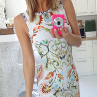 Print Bodycon Homecoming Party Dress