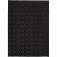 Naples Black Area Rug (5' x 7')