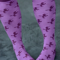 Unicorn Knee High - Sock Dreams - Unique Colorful Socks