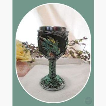 """Lucky"" Green Dragon Chalice"