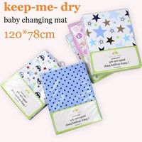 baby nappy changing baby changing pad cover flannel reusable waterproof diaper newborn changing table changing mat