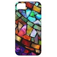 Stained Glass Mosaic iPhone 5/5S Case